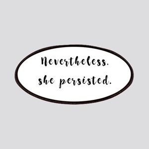 Nevertheless, she persisted. Patch