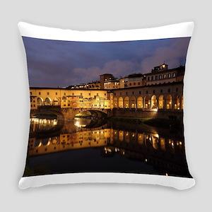 Ponte Vecchio Florence Everyday Pillow
