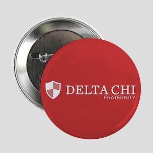 "Delta Chi Fraternity Crest 2.25"" Button"
