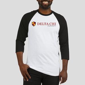 Delta Chi Fraternity Crest Baseball Jersey