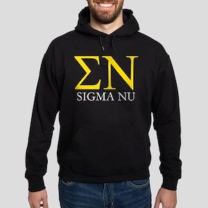 Sigma Nu Letters Hoodie (dark)