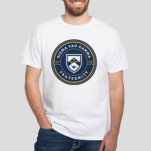 Sigma Tau Gamma Fraternity White T-Shirt