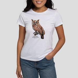 Eastern Screech Owl Women's Classic White T-Shirt