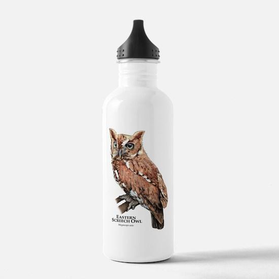 Eastern Screech Owl Water Bottle