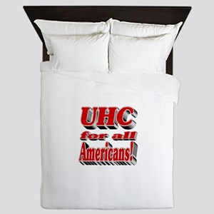 UHC for all Americans Queen Duvet