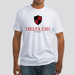 Delta Chi Fraternity Crest Fitted T-Shirt