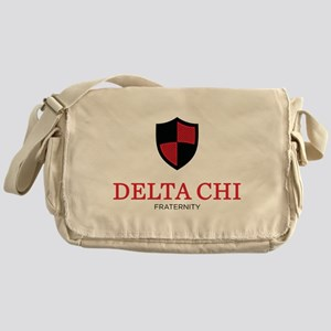 Delta Chi Fraternity Crest Messenger Bag