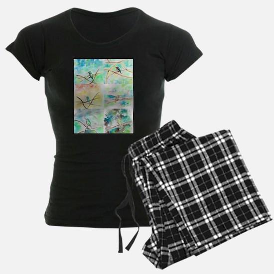 Hummingbird Watercolors 2 Pajamas
