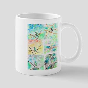 Hummingbird Watercolors 2 Mugs