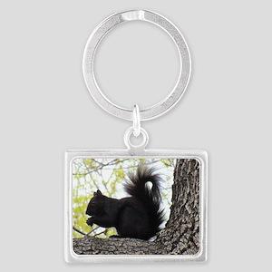 """Curious Squirrel"" Keychains"