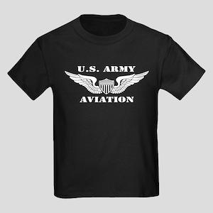 Aviator (2) Kids Dark T-Shirt