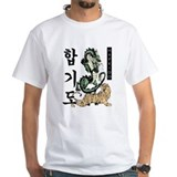 Hapkido Mens Classic White T-Shirts