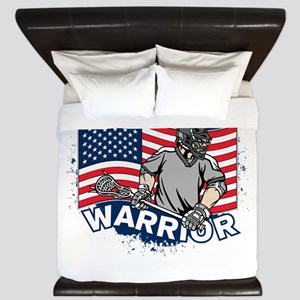 American Lacrosse Warrior King Duvet
