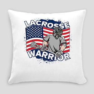 American Lacrosse Warrior Everyday Pillow