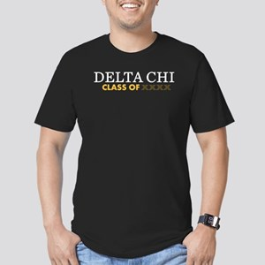 Delta Chi Fraternity P Men's Fitted T-Shirt (dark)