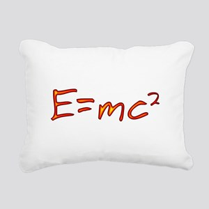 Incandescent Relativity Rectangular Canvas Pillow