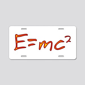 Incandescent Relativity Aluminum License Plate