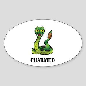 charmed snake Sticker