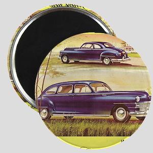 """""""1946 Chrysler Ad"""" Magnets"""