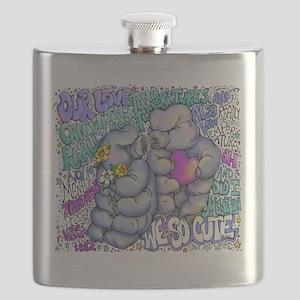 Tardigrade Love Flask