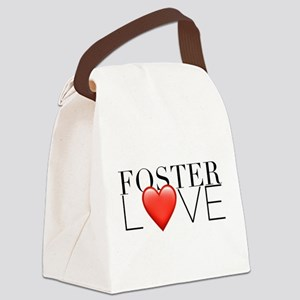 Foster love Canvas Lunch Bag