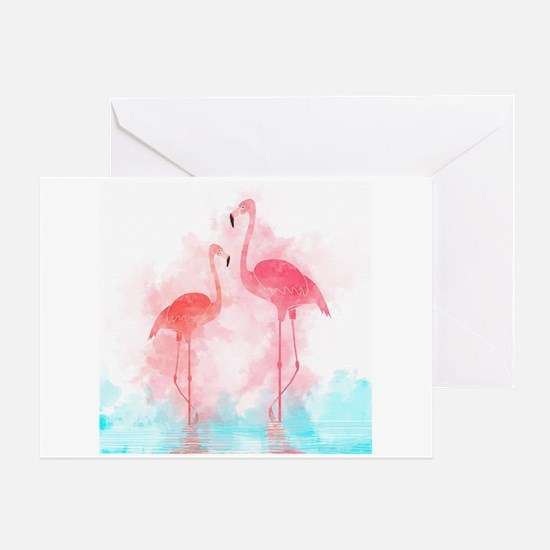 Funny Water birds Greeting Card