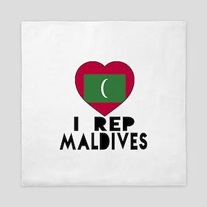 I Rep Maldives Country Queen Duvet
