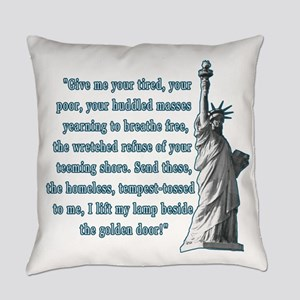 Statue of Liberty Everyday Pillow