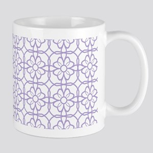 Purple Flourish Pattern Mug