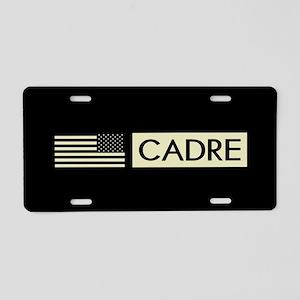 Cadre (Reverse Black Flag) Aluminum License Plate