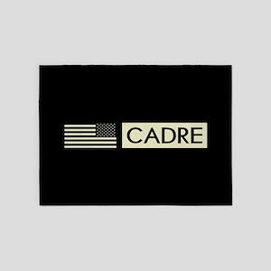 Cadre (Reverse Black Flag) 5'x7'Area Rug