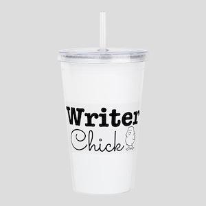 Writer Chick Acrylic Double-wall Tumbler