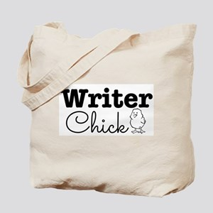 Writer Chick Tote Bag