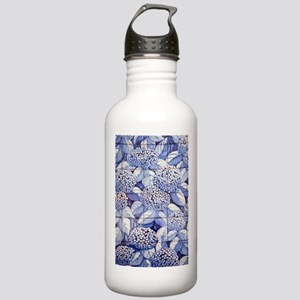 Floral tiles Stainless Water Bottle 1.0L