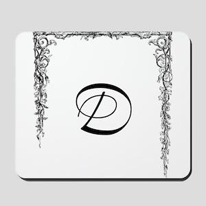 Monogram D Mousepad