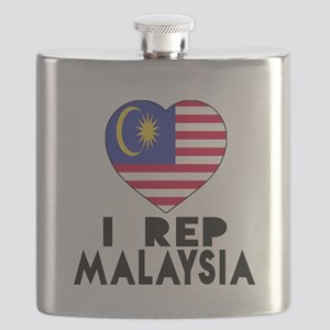 I Rep Malaysia Country Flask