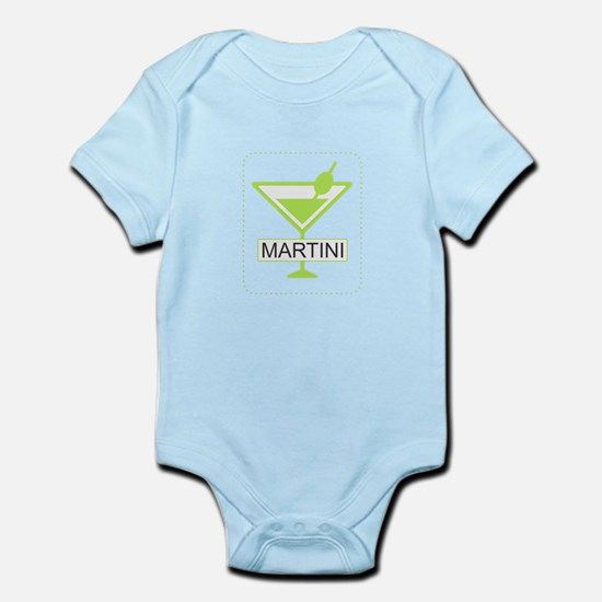 Martini Apple Green Body Suit