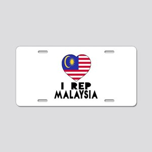 I Rep Malaysia Country Aluminum License Plate