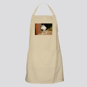 Happy frog with big eyes Light Apron