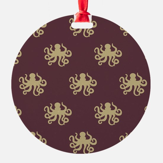 Octopus Pattern Ornament