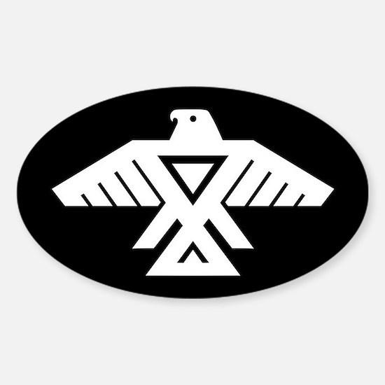 Anishinaabe Thunderbird flag Decal