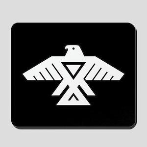 Anishinaabe Thunderbird flag Mousepad