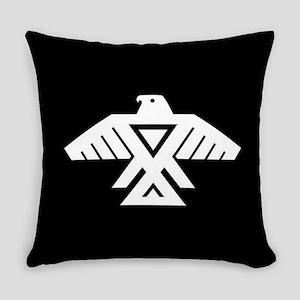 Anishinaabe Thunderbird flag Everyday Pillow