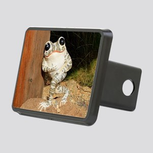 Happy frog with big eyes Rectangular Hitch Cover