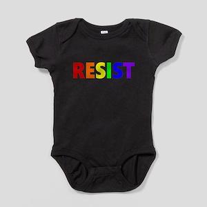 Resist 1 Rainbow Dark Body Suit