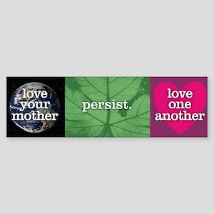 Persist Bumper Sticker