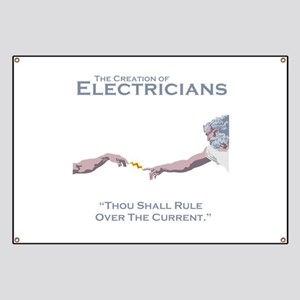 The Creation of Electricians Banner