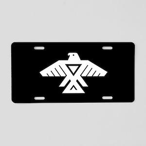 Anishinaabe Thunderbird fla Aluminum License Plate
