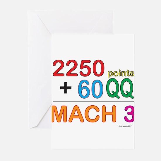 MACH 3 formula Greeting Cards (Pk of 10)