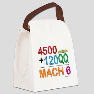MACH 6 formula Canvas Lunch Bag